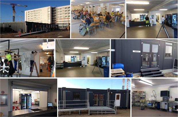 Håndværker kantine DNU - ABC Pavilloner
