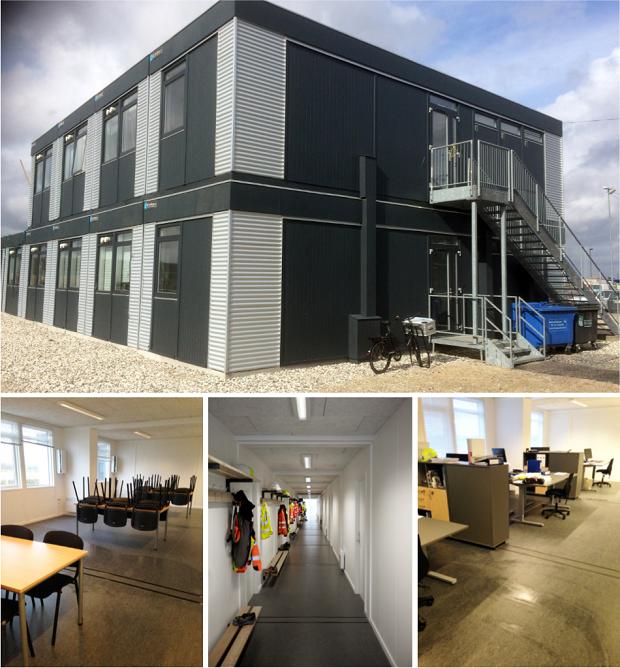 440 m2 kontorbyggeri